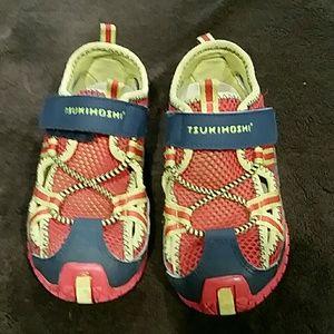 Tsukihoshi Kid's Sneaker/Sandals, size 10